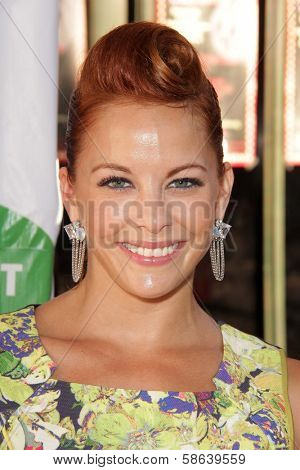 Amy Paffrath at L.A.'s Feline Rescue Center's