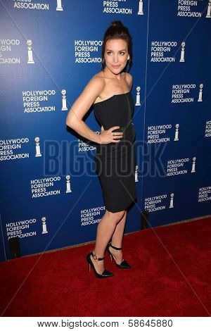 Piper Perabo at the Hollywood Foreign Press Association's 2013 Installation Luncheon, Beverly Hilton, Beverly Hills, CA 08-13-13