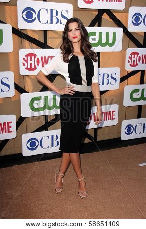 Meghan Ory at the CBS, Showtime, CW 2013 TCA Summer Stars Party, Beverly Hilton Hotel, Beverly Hills, CA 07-29-13