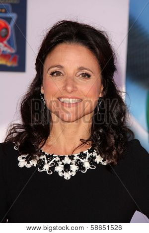 Julia Louis-Dreyfus at the World Premiere Of Disney's Planes, El Capitan, Hollywood, CA 08-05-13