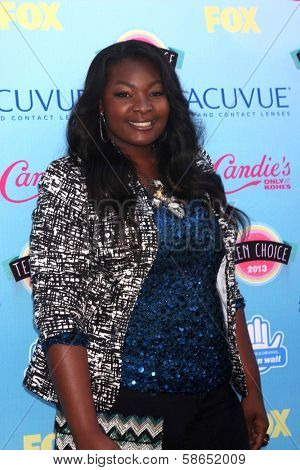 Candice Glover at the 2013 Teen Choice Awards Arrivals, Gibson Amphitheatre, Universal City, CA 08-11-13