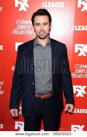 Rob McElhenney at the FXX Network Launch Party and