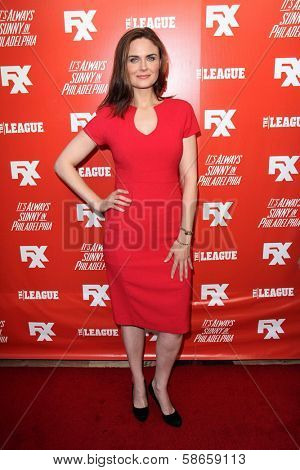 Emily Deschanel at the FXX Network Launch Party and