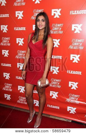 Christina Paulus at the FXX Network Launch Party and