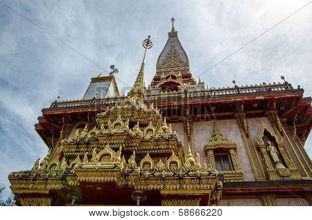 Thailand Temple At Phuket Island