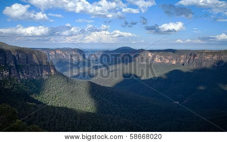 View From Govett's Leap In The Blue Mountains, Australia