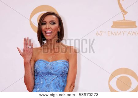 Giuliana Rancic at the 65th Annual Primetime Emmy Awards Arrivals, Nokia Theater, Los Angeles, CA 09-22-13