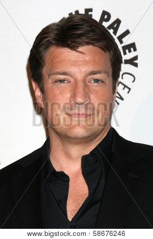 Nathan Fillion at the An Evening with