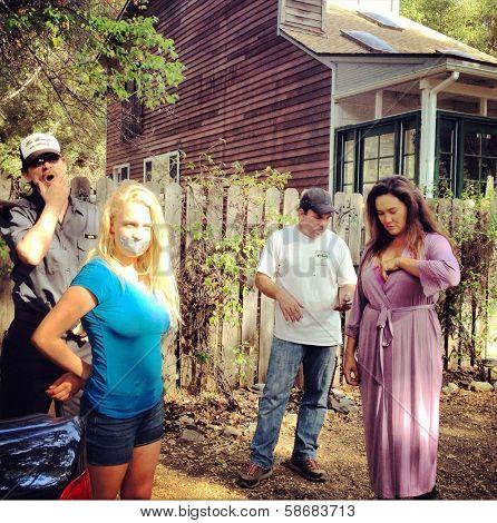Michael Biehn, Evie Thompson, Tia Carrere Behind The Scenes of