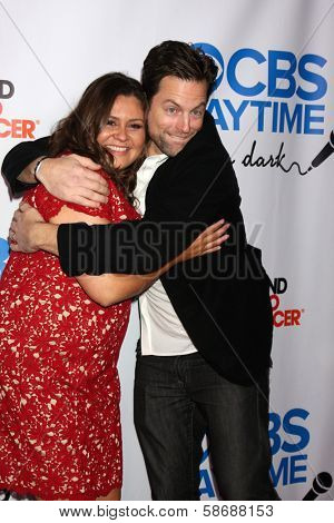Michael Muhney and Angelica McDaniel at the CBS Daytime After Dark Event, Comedy Store, West Hollywood, CA 10-08-13