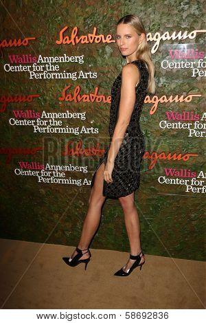 Karolina Kurkova at the Wallis Annenberg Center For The Performing Arts Inaugural Gala, Wallis Annenberg Center For The Performing Arts, Beverly Hills, CA 10-17-13