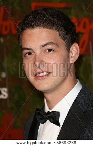 Israel Broussard at the Wallis Annenberg Center For The Performing Arts Inaugural Gala, Wallis Annenberg Center For The Performing Arts, Beverly Hills, CA 10-17-13