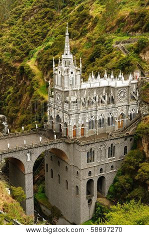 Colombia, Sanctuary Of The Virgin Of Las Lajas