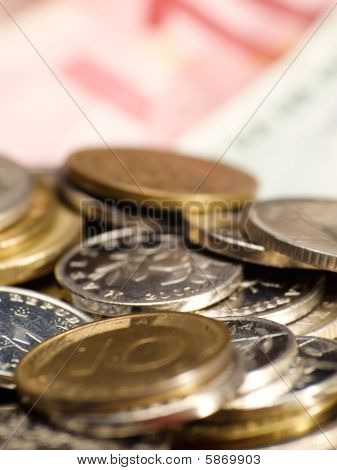 Various Currency Closup
