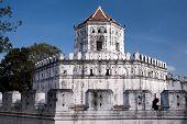 Old Fort Phra Sumeru in Bangkok - Thailand poster