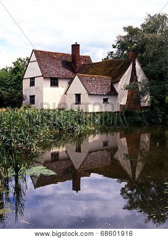 Willy Lotts Cottage, Flatford.