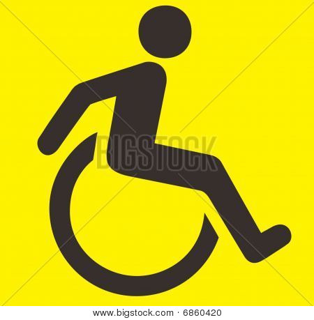Handicaped sign