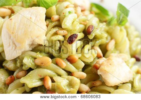 Italian Pasta On White Background