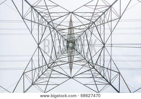 High-voltage Transmission Tower