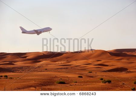 Red Hot Sand Of Uae
