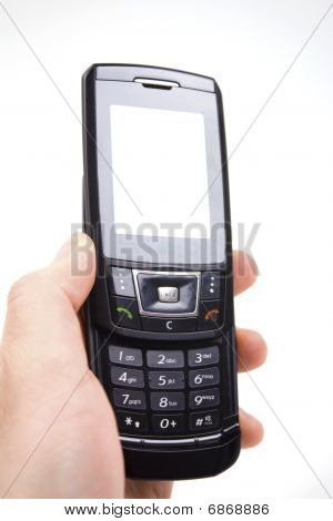 Cell Phone In A Hand