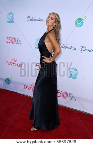 LOS ANGELES - JUL 19:  Elizabeth Berkley at the 4th Annual Celebration of Dance Gala at Dorothy Chandler Pavilion on July 19, 2014 in Los Angeles, CA