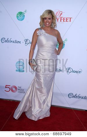 LOS ANGELES - JUL 19:  Mary Murphy at the 4th Annual Celebration of Dance Gala at Dorothy Chandler Pavilion on July 19, 2014 in Los Angeles, CA