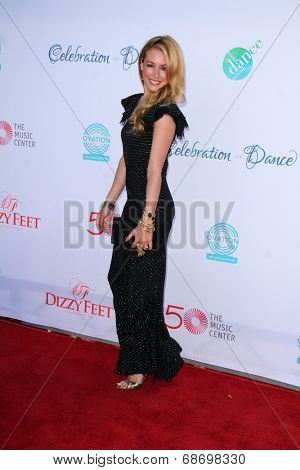 LOS ANGELES - JUL 19:  Cat Deeley at the 4th Annual Celebration of Dance Gala at Dorothy Chandler Pavilion on July 19, 2014 in Los Angeles, CA