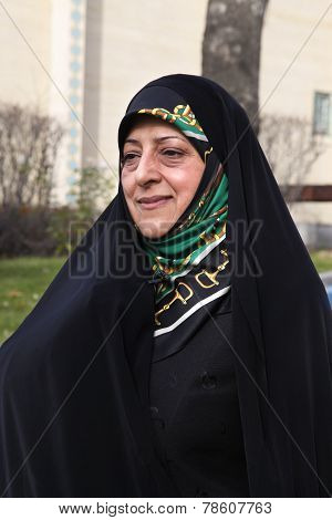 Masoumeh Ebtekar head of Environmental Protection Organization iran
