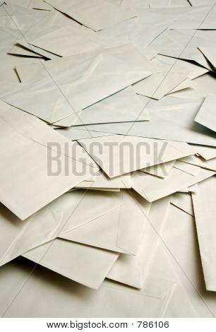 mound of envelopes