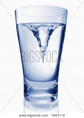 Glas Of Twisting Water