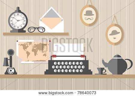 vintage workstation