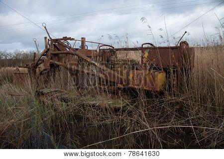 Vintage Wetland Machinery.