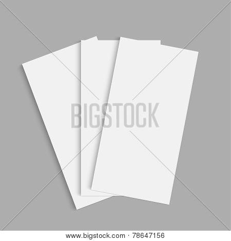 Tri fold brochure design.  mock up. corporate brochure or cover design. for publishing, print and presentation. poster