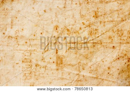 Texture Of Dirty And Crumple Paper