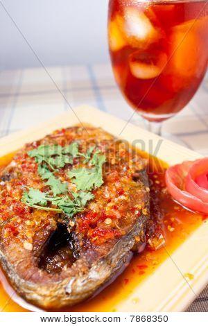 Thai Food And Icetea
