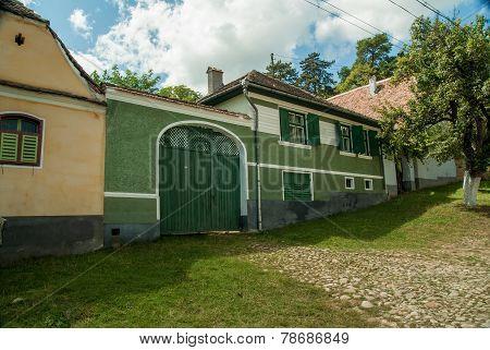 A beautiful house in Viscri Village, Transylvania, Romania