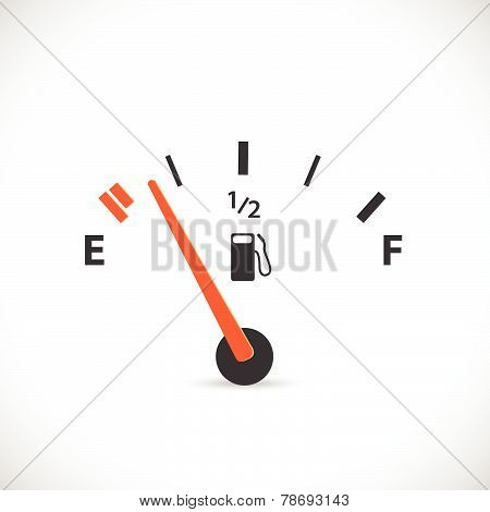 Gas Gage Illustration