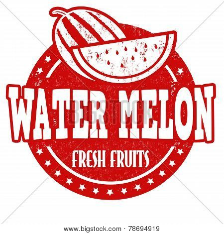 Water Melon Stamp