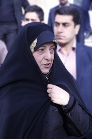 Masoumeh Ebtekar head of Environmental Protection Organization iran