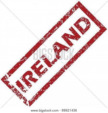 New Ireland rubber stamp