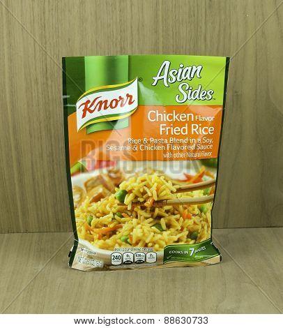 Bag Of Knorr Chicken Flavor Rice Noodle Mix