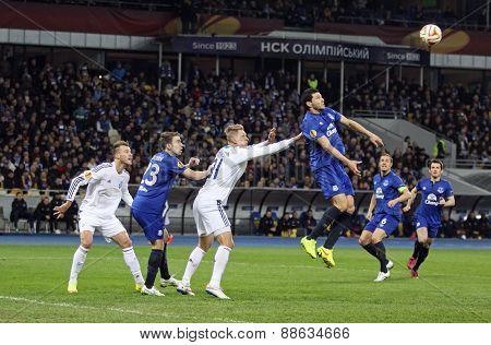 Football Game Fc Dynamo Kyiv Vs Fc Everton