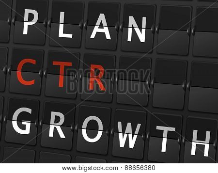 Plan Ctr Growth Words On Airport Board