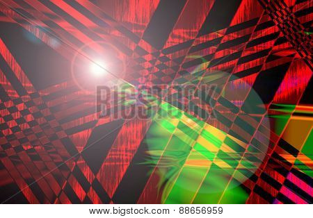 Abstract And Stripe Line Background Texture Pattern With Light Flare