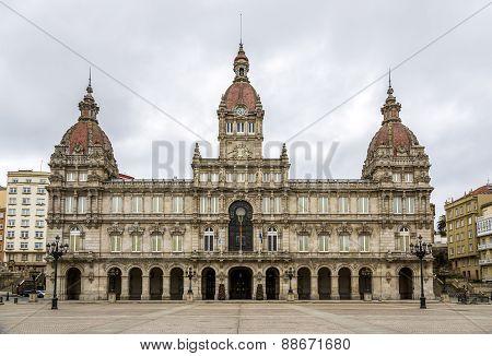 A Coruna Town Hall