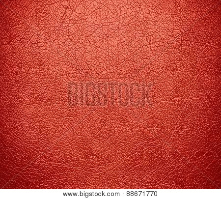 Bittersweet color leather texture background