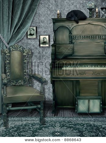 The Witches Music Room