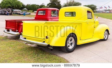Two Pickup Trucks