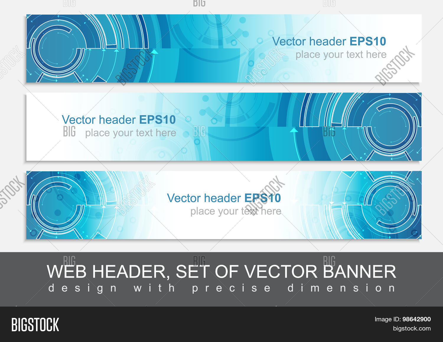 Set Three Horizontal Vector Photo Free Trial Bigstock
